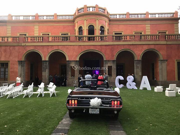 Hermosa hacienda