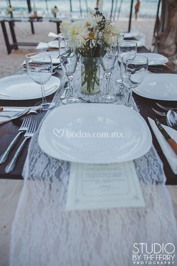 Foto montaje de mesas