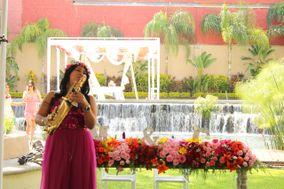 Saxofonista Karen Miranda