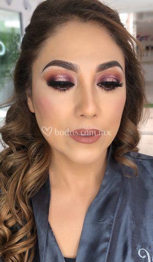 Bride to be makeup