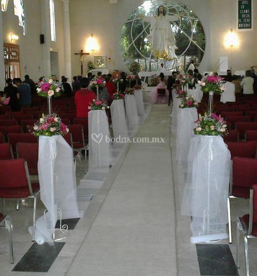 Ramos para la iglesia