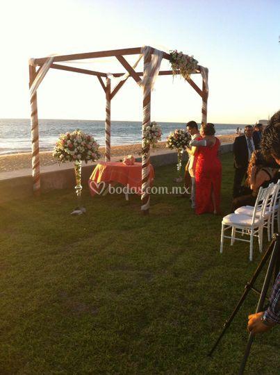 Ceremonia civil jardin / playa
