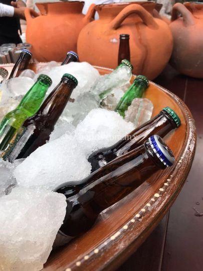 Bebidas recepción