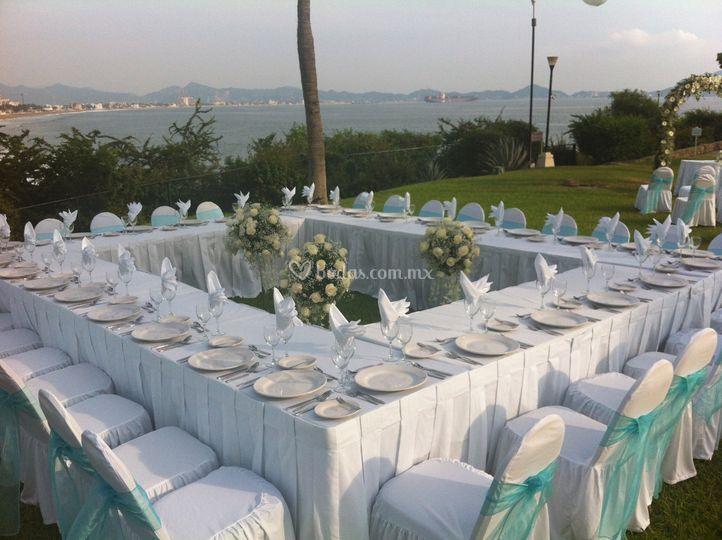 Banquete mesa rusa