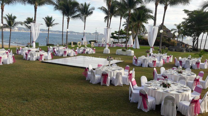 Banquete espectacular