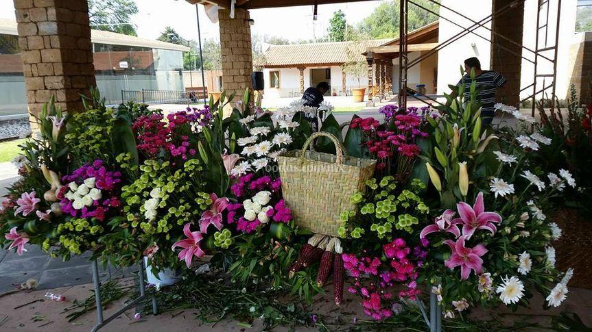 Servicio de flores