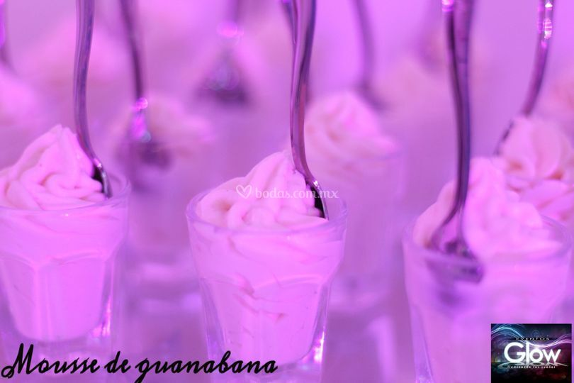 Mousse de guanabana