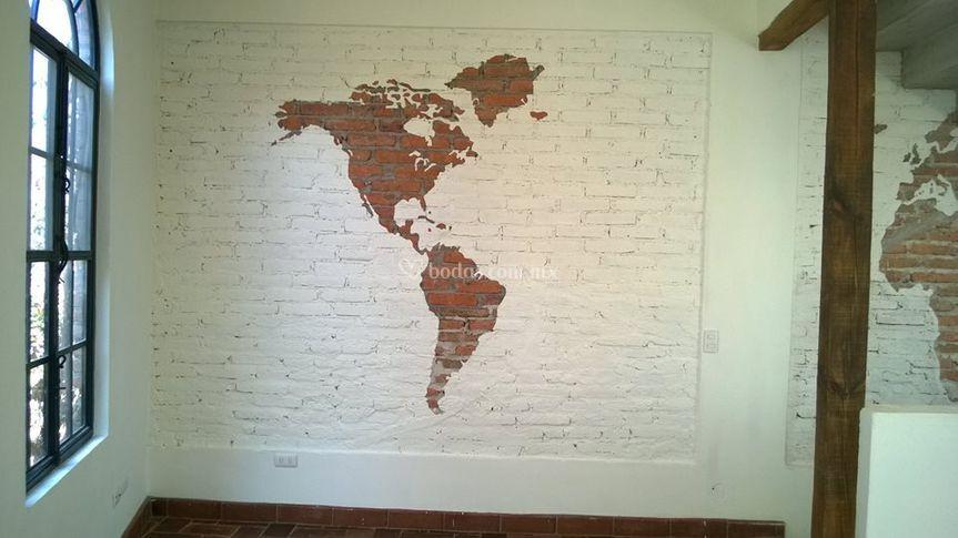 Decoración en pared