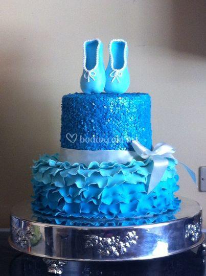 Pastel blue balett