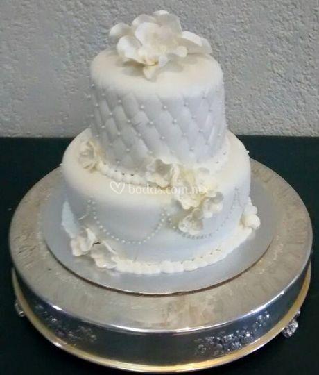 Un hermoso pastel