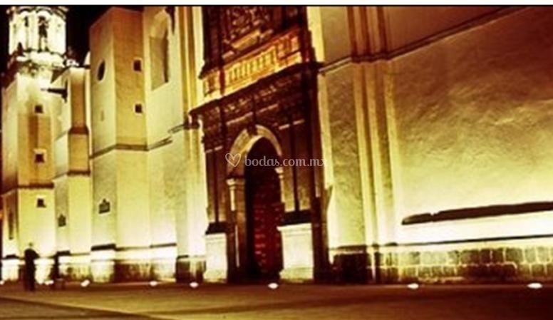 Entrada al Ex Convento Regina