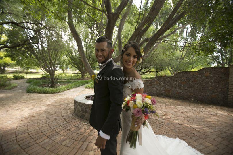 Oswaldo y Mariana