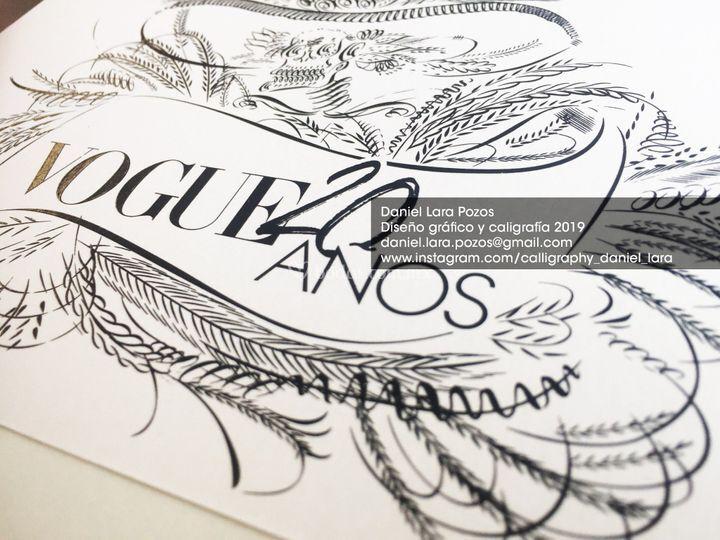 Invitaciones para Vogue México