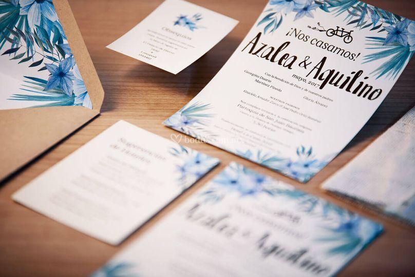Invitaciones lindas