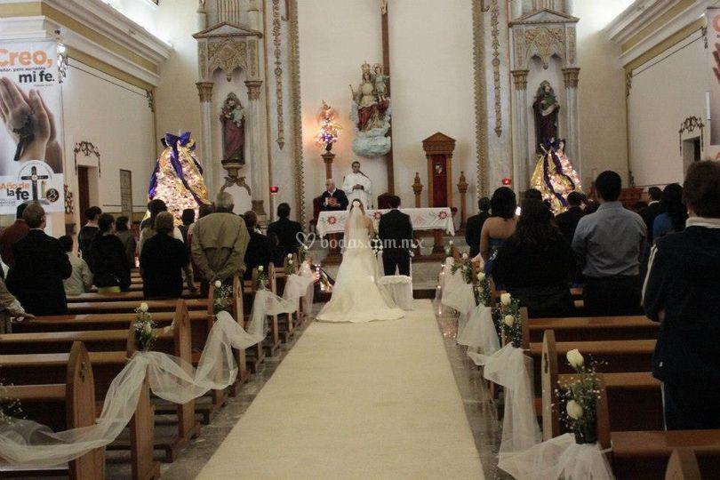 Cemino altar Catedral
