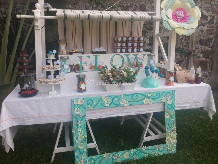 Hermosos detalles for Mesas de dulces para bodas precios