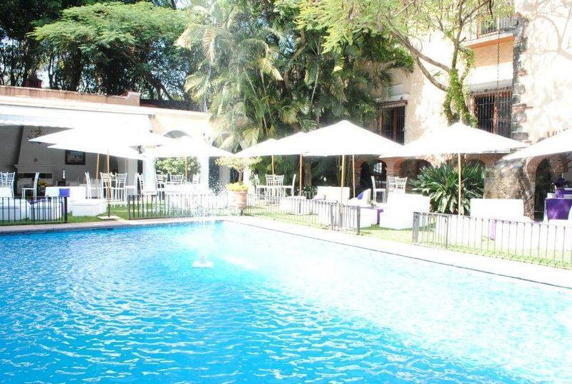 Eventos al lado de la piscina