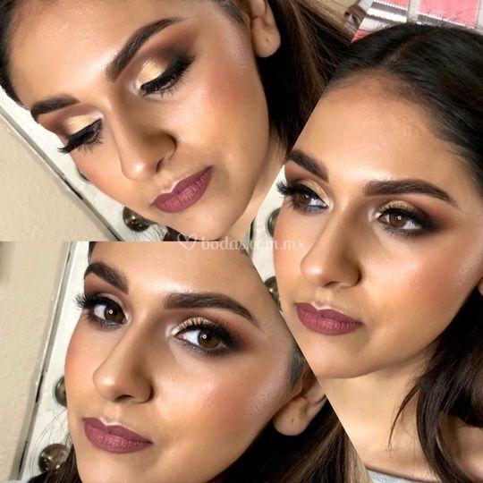 Maquillaje: Claudia González