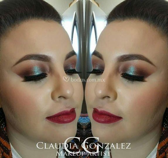Maquillaje: Claudia Gonzalez
