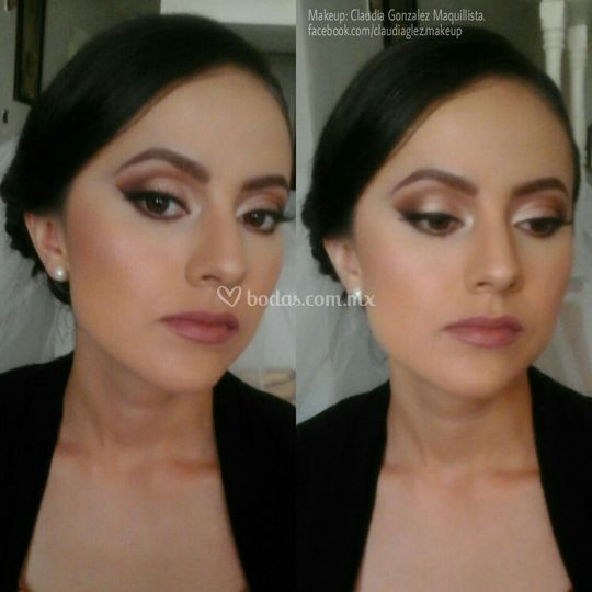 Maquillaje : Claudia Gonzalez