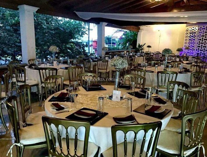 Salón para los invitados
