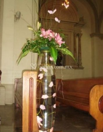 Para decorar la iglesia