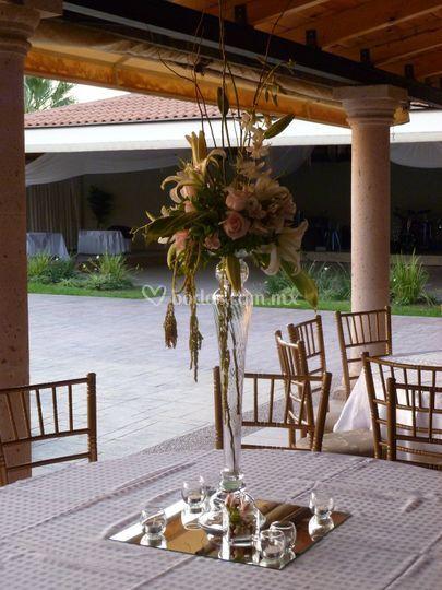 Centro de mesa tradicional