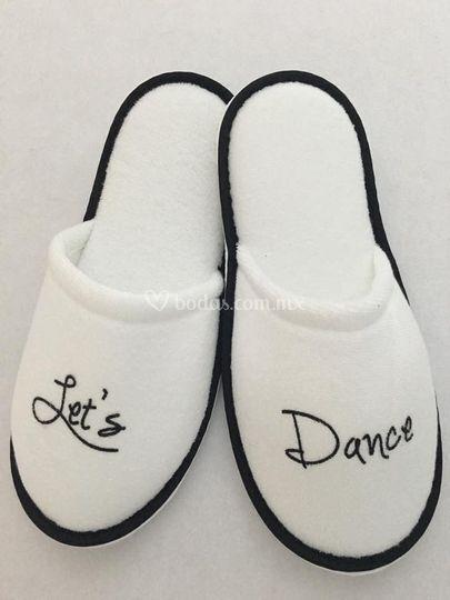 Pantuflas Let's Dance