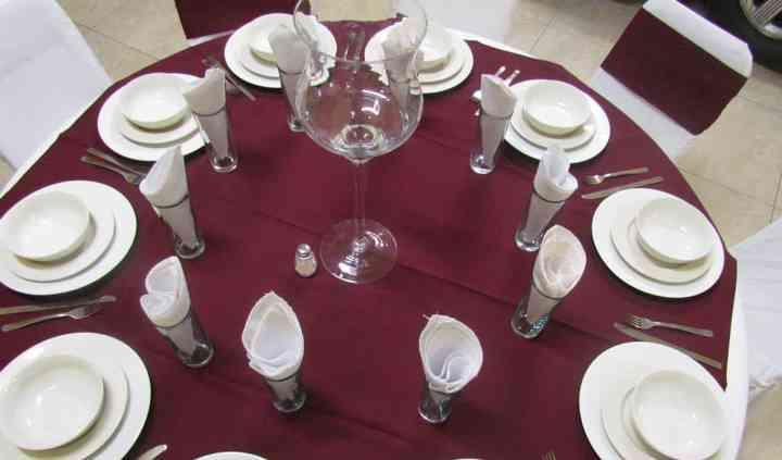 Decoración para su boda