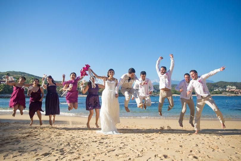 Diversión el día de tu boda