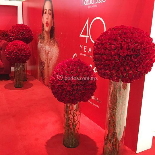 Diseño floral para eventos