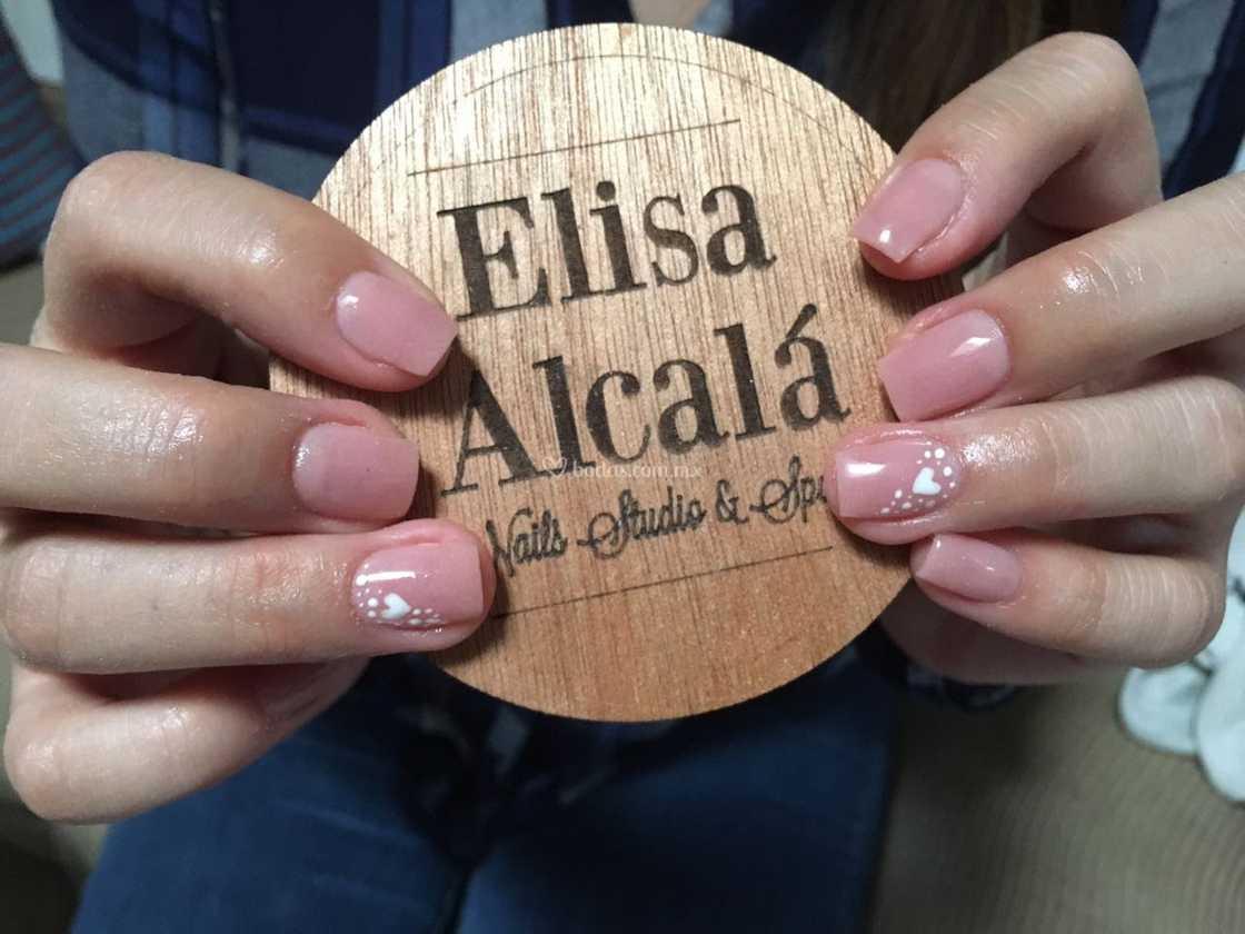 Uñas En Acrílico Color Natural De Elisa Alcalá Fotos