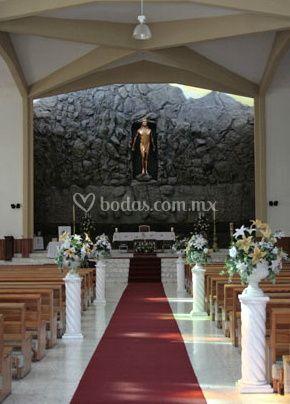 Decoración de la capilla