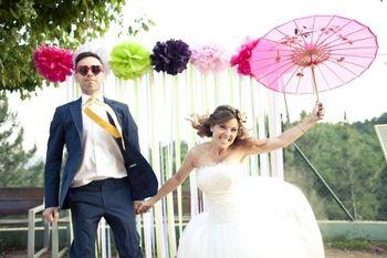 Ideas para decorar la boda con listones