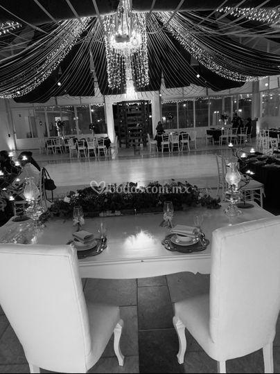 Vista mesa principal