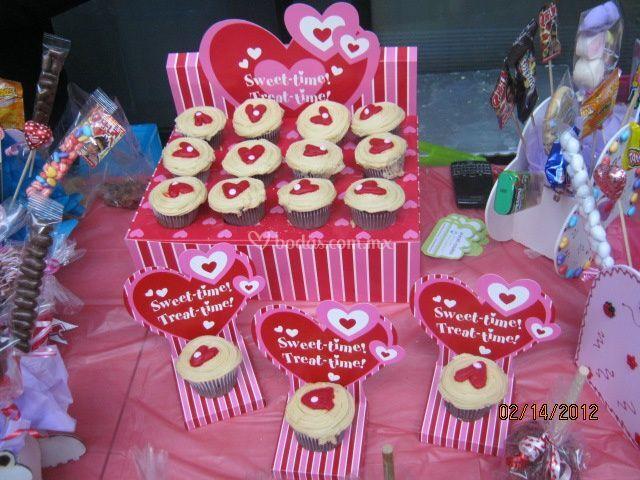 Cupcakes para su boda
