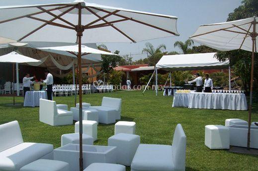Area lounge jardín