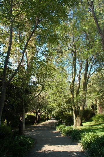 Entrada al Jardin Maja