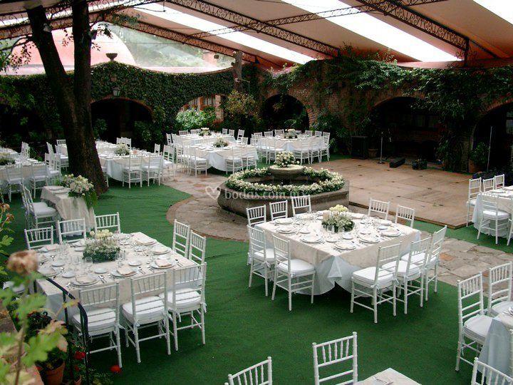 Jardin Maja decoración
