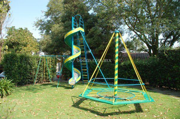 Jardin de juegos para niños