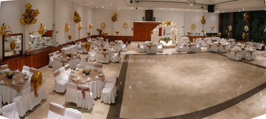 La parroquia for Salones para casamientos
