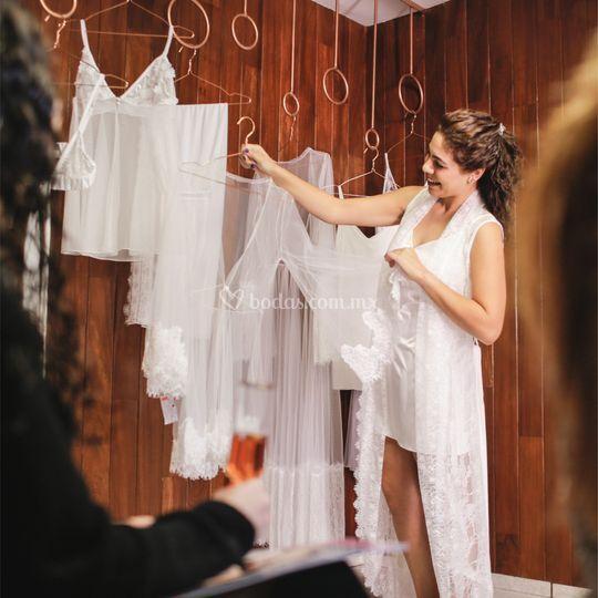 Lencería para novias