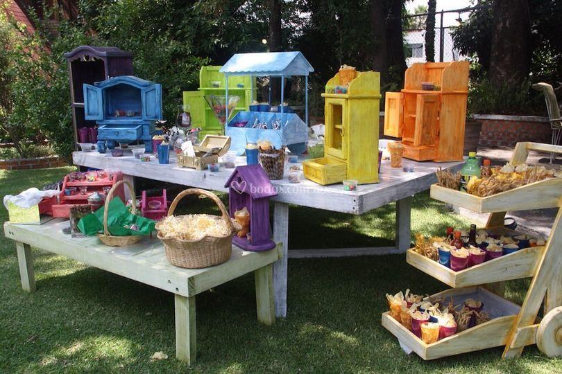 Fiesta infantil con variedad