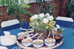 Montaje de bufet en la mesa