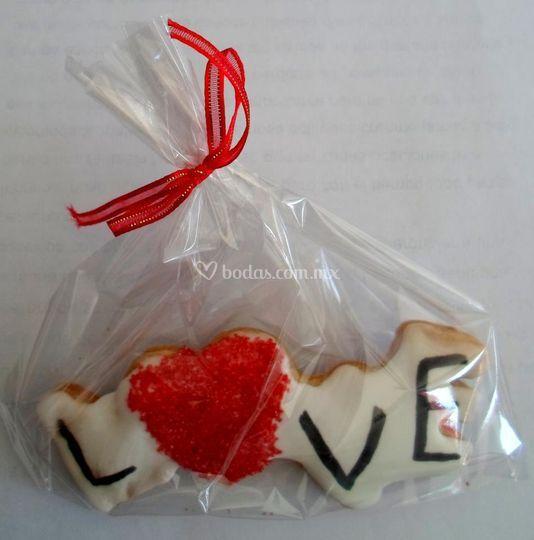Recuerdos de galleta  decorada