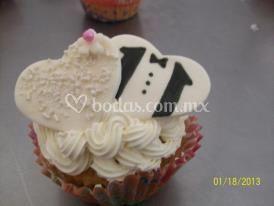 Cup cake bodas