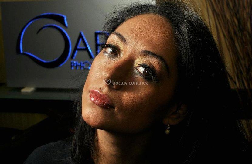 Maquillaje con airbrush
