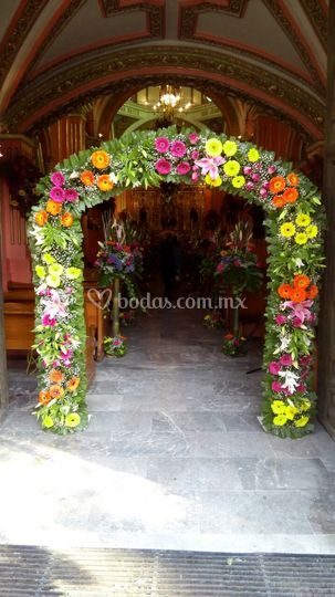 Arco para la entrada
