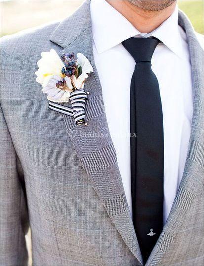 Traje para boda de día