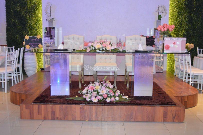 Mesa principal